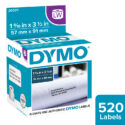 Etiquetas para Dymo 450 blanca 36 x 89 mm