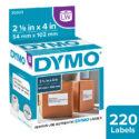 Etiquetas para Dymo 450 blanca 54 x 102 mm