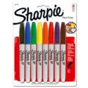 Marcador permanente Sharpie Fine colores surtidos blíster x 8 und