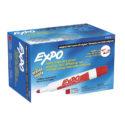 Marcador borrable Expo rojo caja x 12 und