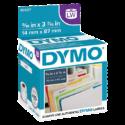 Etiquetas para Dymo 450 blanca 87 x 14 mm