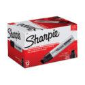 Marcador permanente Sharpie Industrial Magnum negro, caja x 12 unidades
