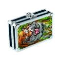 Caja de seguridad Vaultz con llave, diseño Tigre 3D